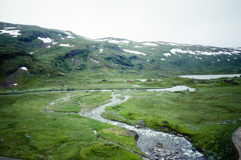 Oslo - Bergen en train